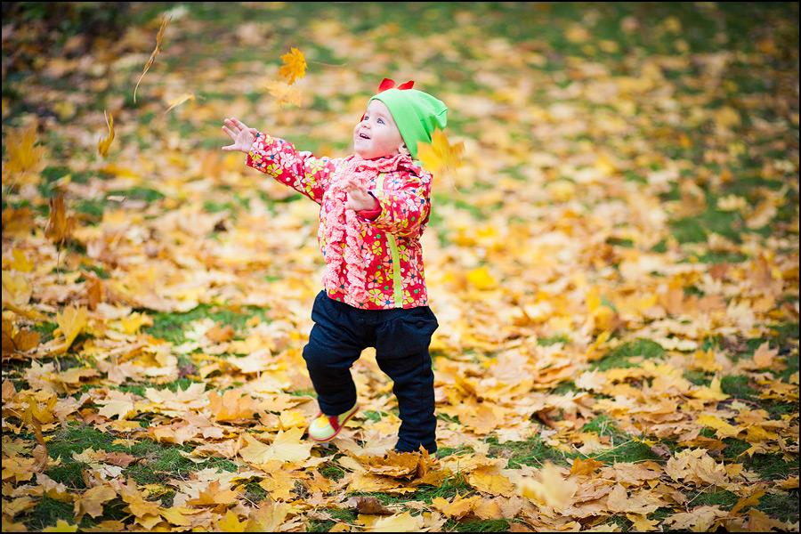 Осенние занятия с детьми
