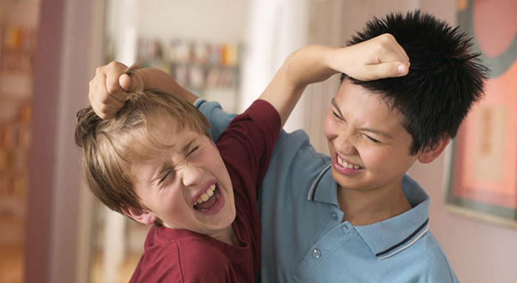 Агрессия у малышей
