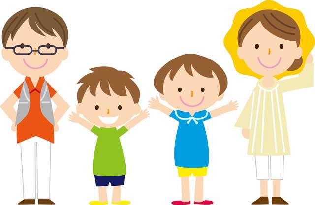 фото детей с родителями