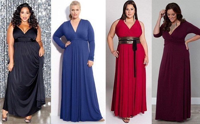 Как и с чем носить длинное платье