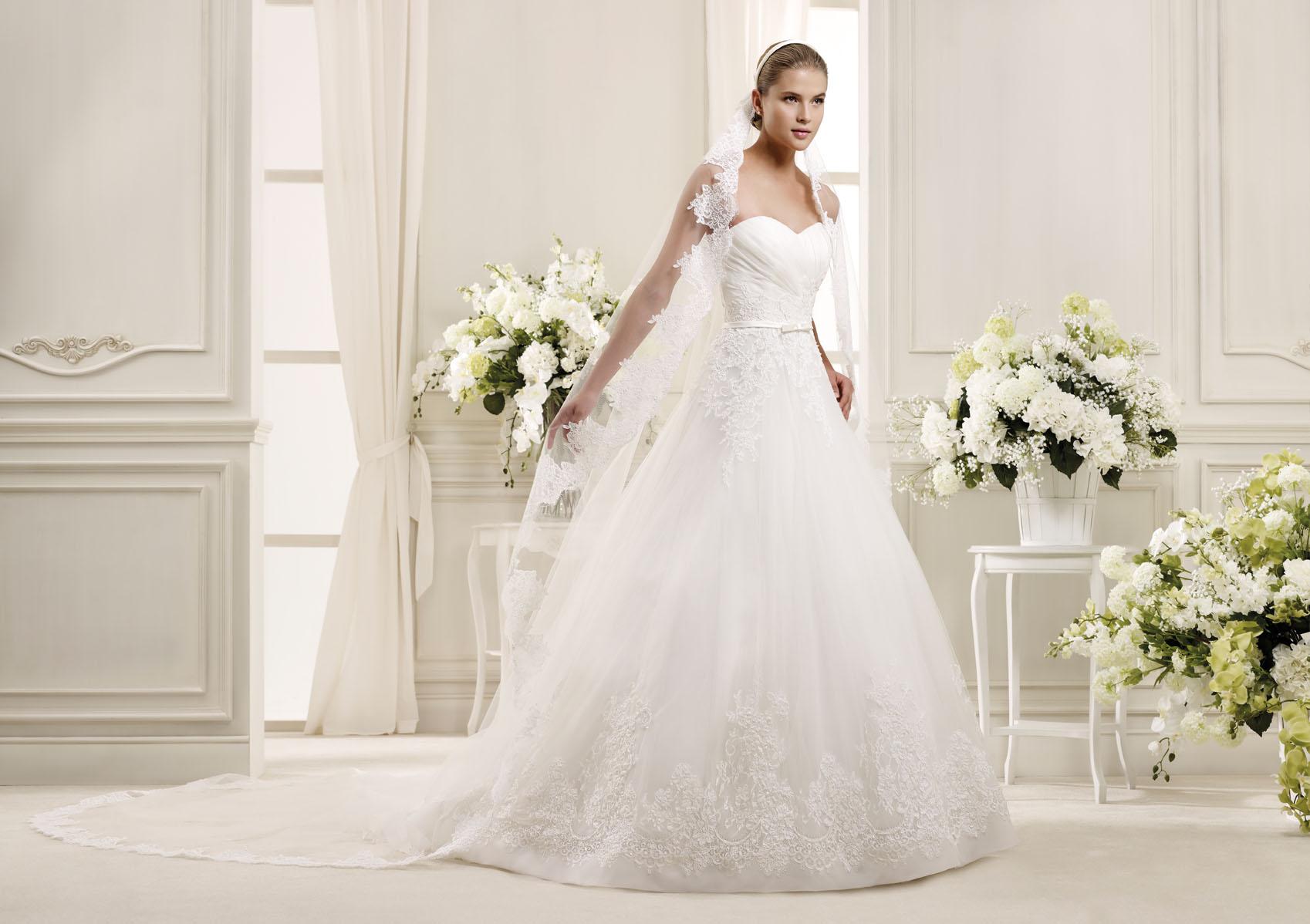Свадебные наряды от итальянских модельеров